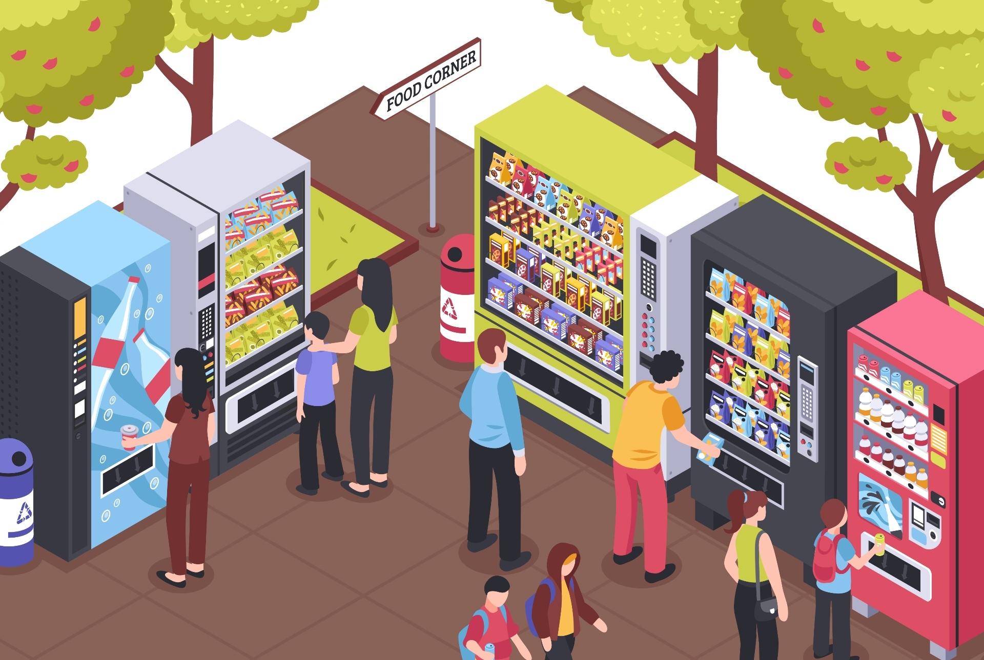 vending machine para eventos